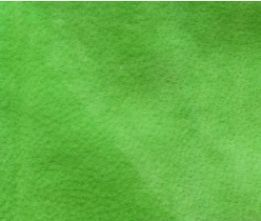 Citrus Green Velour Suede Leather Half Skin